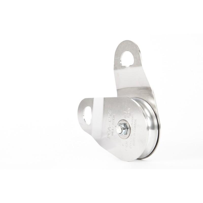 Paslanmaz Çelik Tek Yönlü Yan Kasnak-100 mm
