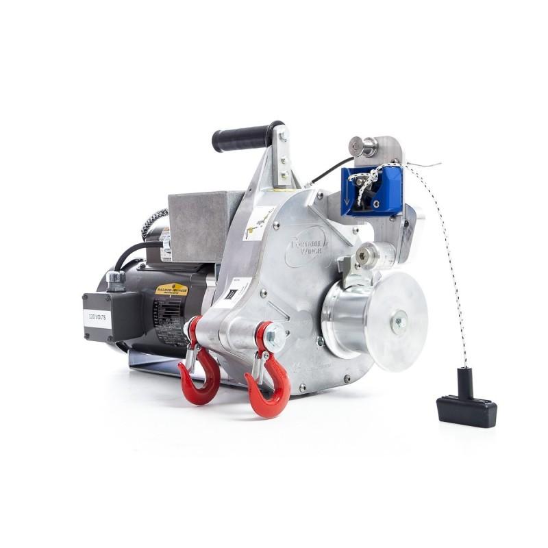 Portatif Vinç Elektrikli PCT1800 Çekme-Kaldırma 820 kg Çekme Gücü
