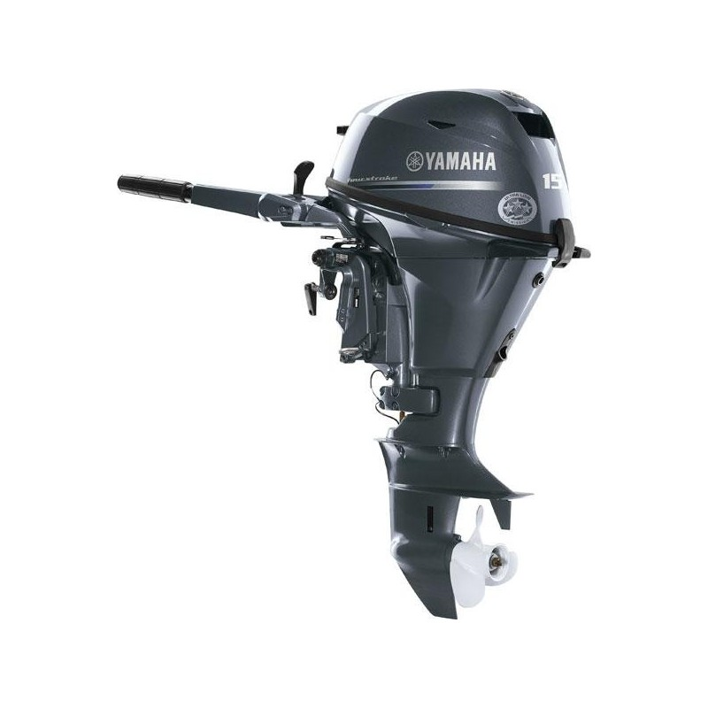 Yamaha F15CMHL Uzun Şaft İpli Deniz Motoru