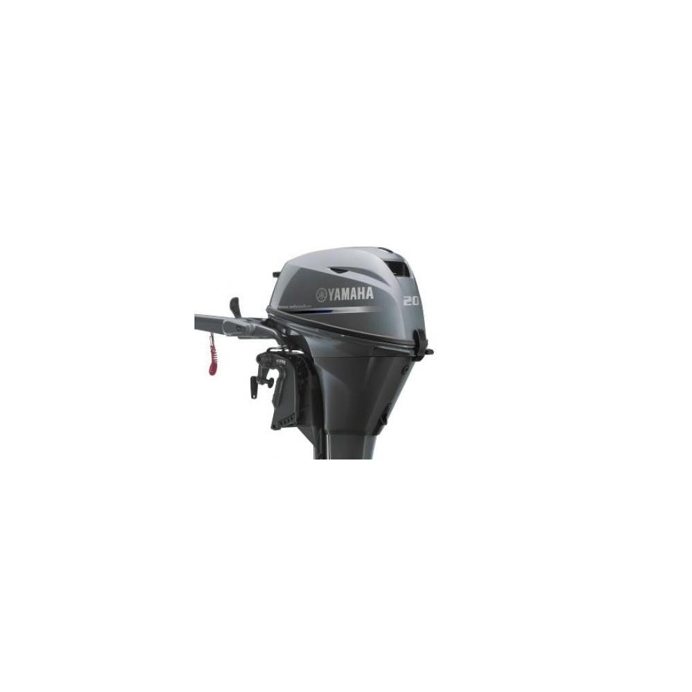 Yamaha F20 BMHS Kısa Şaft İpli Deniz Motoru