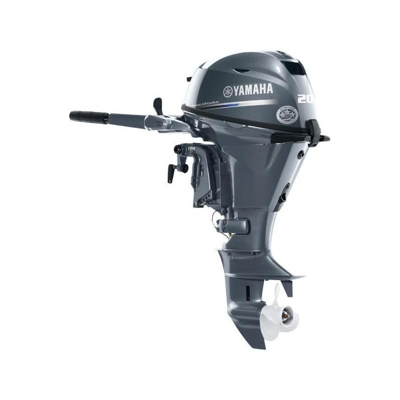Yamaha F20BMHS Kısa Şaft İpli Deniz Motoru