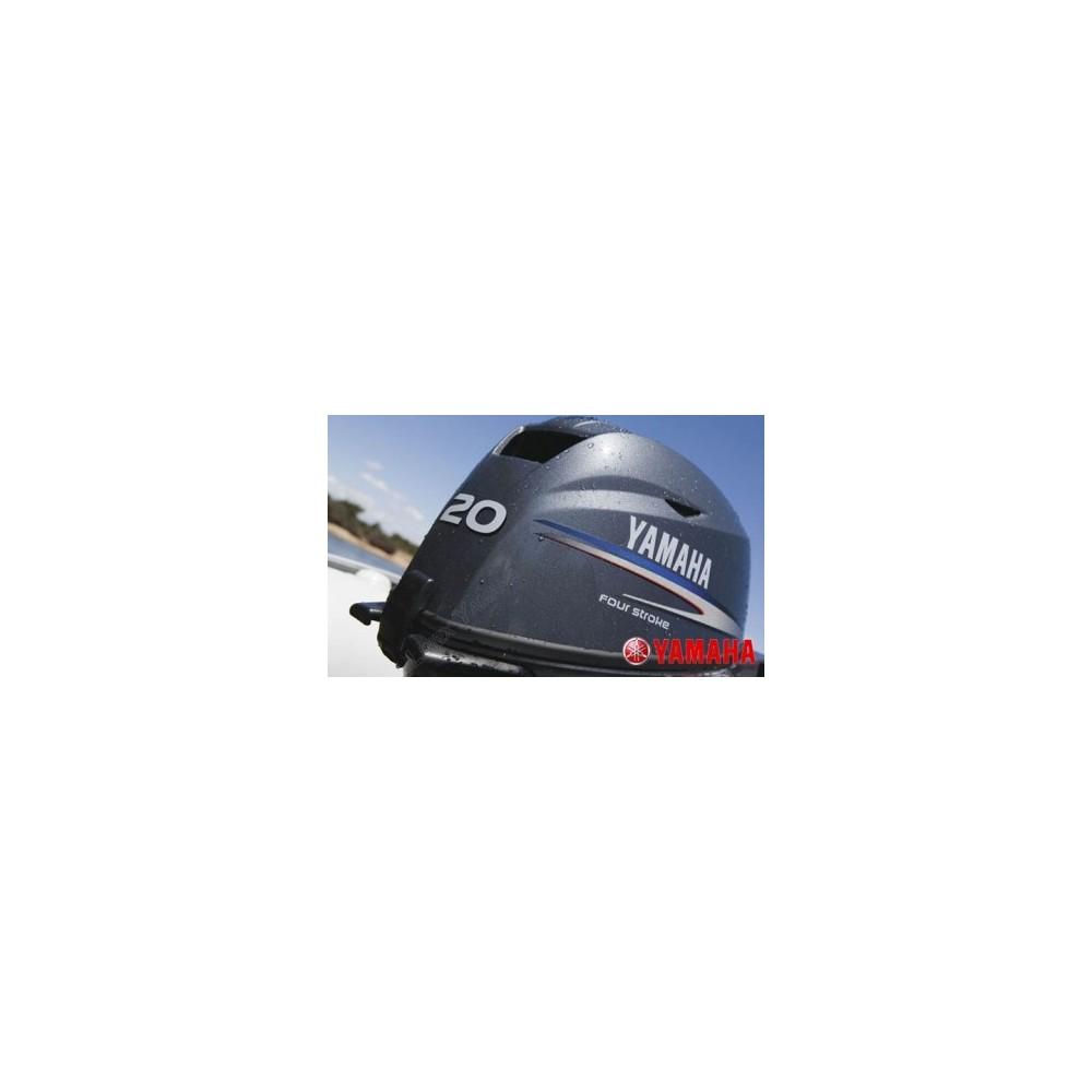 Yamaha F20 BEPL Uzun Şaft Marşlı Deniz Motoru