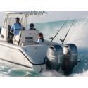 Yamaha FL200GETX Uzun Şaft Marşlı Deniz Motoru-Immobilizer