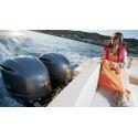 Yamaha FL300BETX Uzun Şaft Marşlı Deniz Motoru-Immobilizer