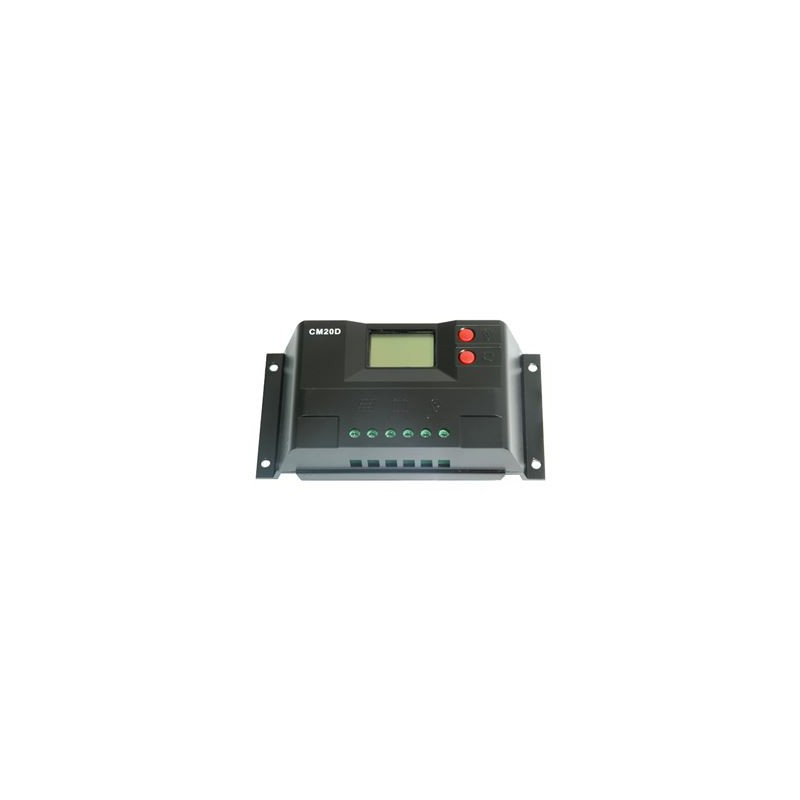Juta 20A Şarj Kontrol Cihazı 12/24 LCD