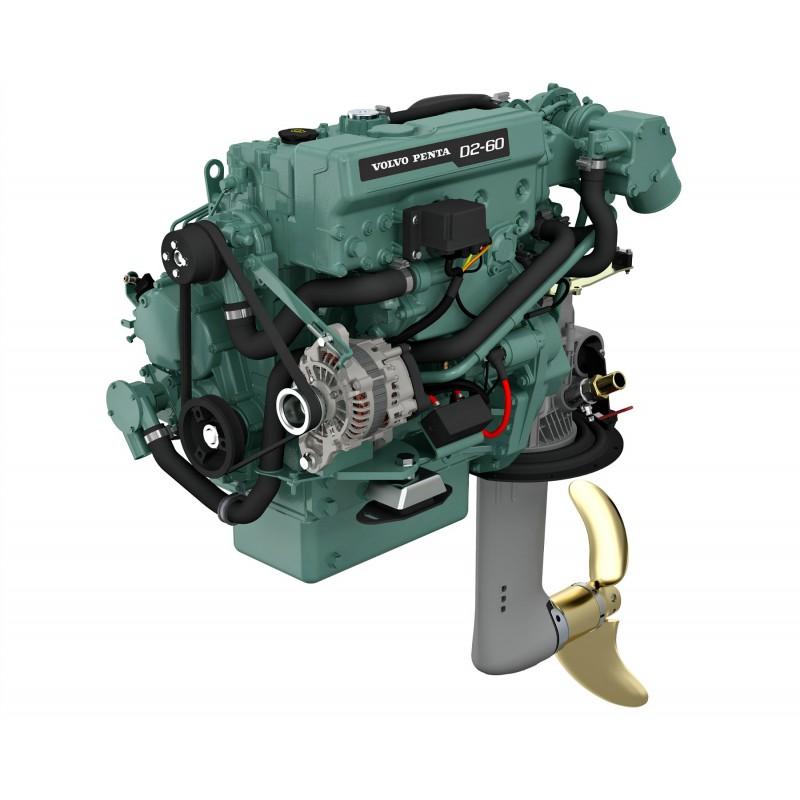 Volvo Penta D2-60 Dizel Deniz Motoru