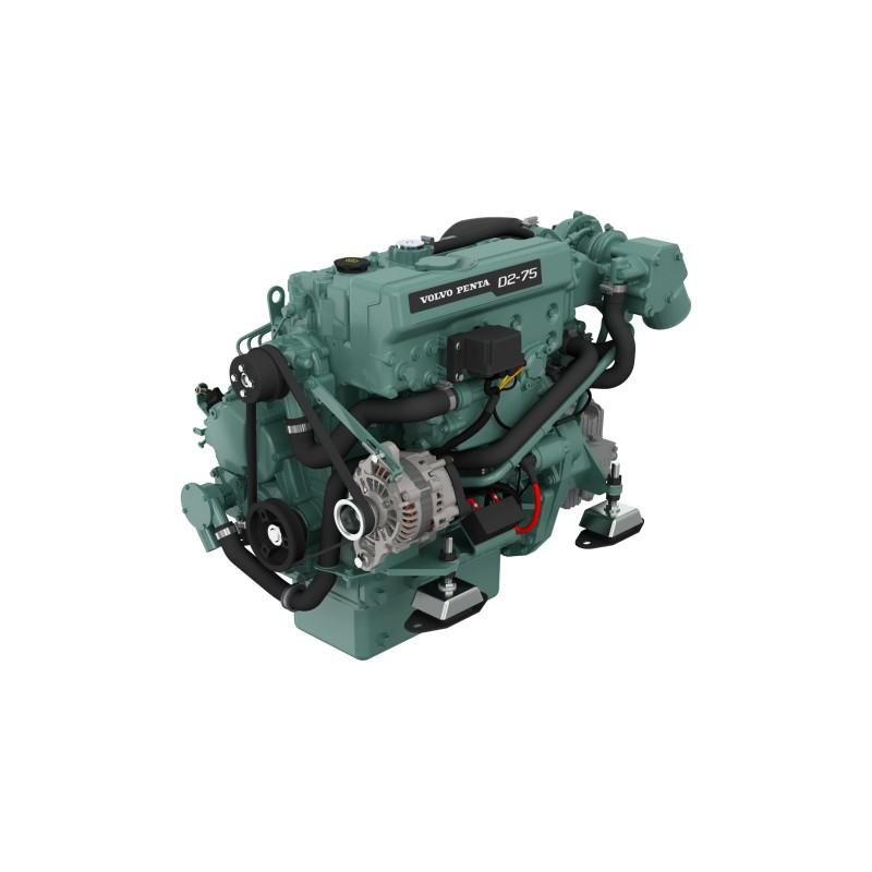 Volvo Penta D2-75 Dizel Deniz Motoru