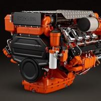 Scania DI13 070M. 368 kW (500 hp) Dizel Deniz Motoru