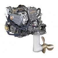 Yanmar 3YM20C-SD25 21 HP Sail Drive Kuyruklu Dizel Deniz Motoru