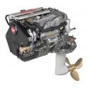 Yanmar 4JH5CE 53 HP Sail Drive Kuyruklu Dizel Deniz Motoru