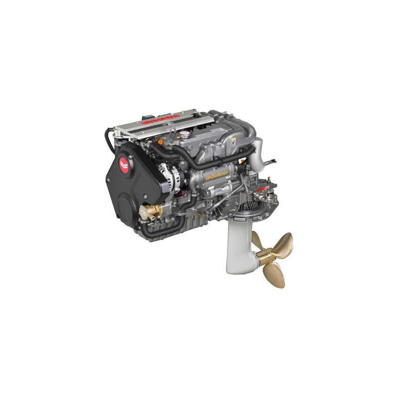 Yanmar 4JH45-C 45 HP Sail Drive Kuyruklu Dizel Deniz Motoru