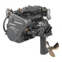 Yanmar 4JH4 75 HP Sail Drive Kuyruklu Dizel Deniz Motoru