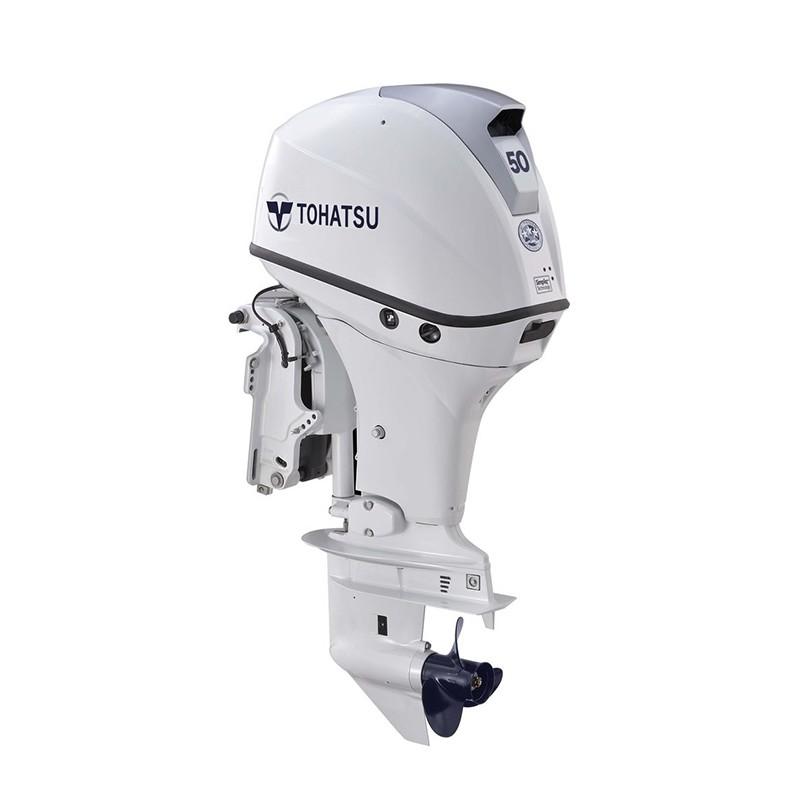 Tohatsu MFS50AWETL Beyaz Uzun Şaft Marşlı Trimli Deniz Motoru