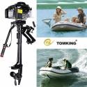 Tomking TK144FCP 4 HP 4 Zamanlı Pro Şaft Motor