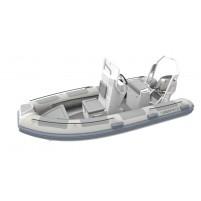 Highfield Ocean Master 420 Konsollu+Rollbarlı Alüminyum Taban Şişme Bot