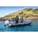Highfield Ocean Master 590 Konsollu+Rollbarlı Alüminyum Taban Şişme Bot