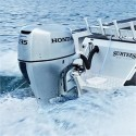 Honda BF 135 AK2 LU R/C Uzun Şaft Marşlı Deniz Motoru