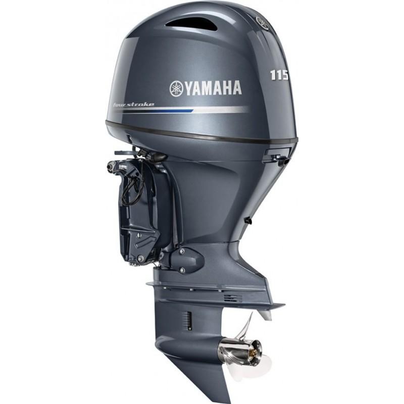 Yamaha F115A/BETX Uzun Şaft Marşlı Deniz Motoru-Immobilizer